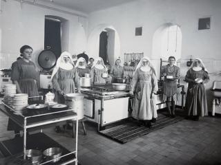 Hauswirtschaft im Juliusspital